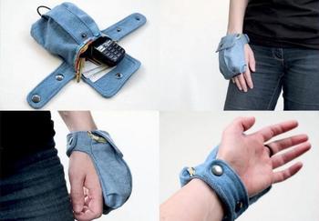 Практичная идея из ненужной джинсы