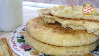 Лепешки «Без мороки» на сухой сковороде, идеально вместо хлеба!