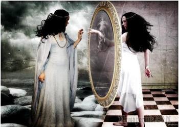 Но в зеркалах...(Стих)