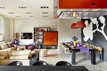 Стиль фьюжн в интерьере квартиры