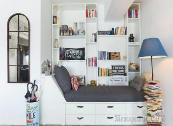 Бессмысленная ниша в квартире: чем ее занять