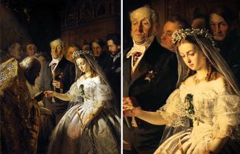Тайны проклятой картины: на какое полотно нельзя было смотреть накануне венчания в царской России