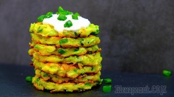 Самый удачный, простой и вкусный рецепт оладьев из кабачков