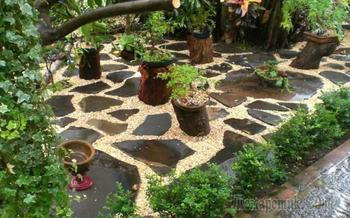 Сад камней или декоративные камни для сада: фото и идеи