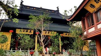 Китай 2018. 04.Шанхай. Храм Нефритового Будды.