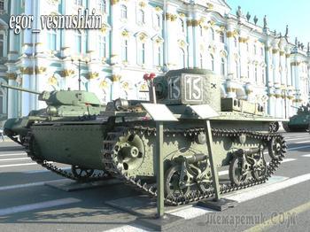Танк-разведчик. (Лёгкие танки РККА)
