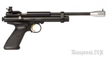 Пистолет Crosman 2300S — достойный представитель профессионального пневматического оружия