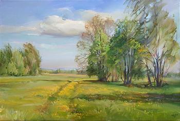 Творчество современного художника Романа Романова