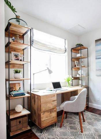 20 способов использовать дерево в дизайне рабочего кабинета