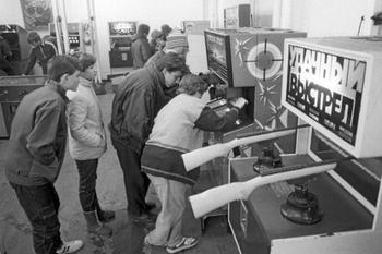 Игровые автоматы - детское счастье за 15 копеек