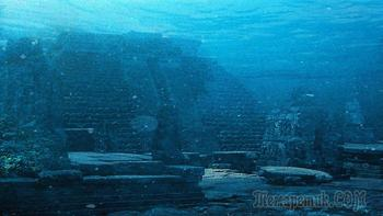 Подводный город о.Йонагуни: Япония