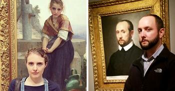 Люди, которые нашли своих двойников на картинах