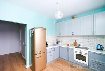 Трехкомнатная квартира 79 м² на Коломенской для семьи с двумя детьми