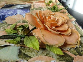 Розы в технике скрапбукинг