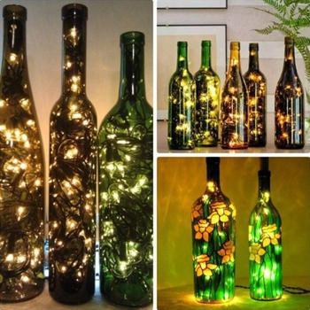 Что делать с бутылками после праздника: 25 идей, которые преобразят интерьер