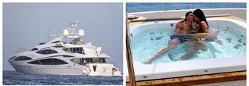 Рай на волнах: на борту роскошной яхты Криштиану Роналду, стоимостью миллионы