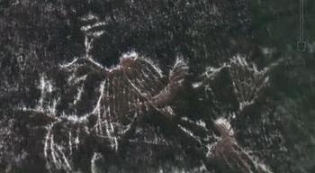 У печально известного перевала Дятлова обнаружены гигантские мистические знаки
