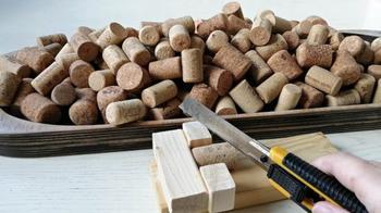 Что можно сделать из остатков фанеры и винных пробок