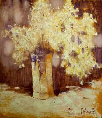 Цветочные натюрморты - мои работы