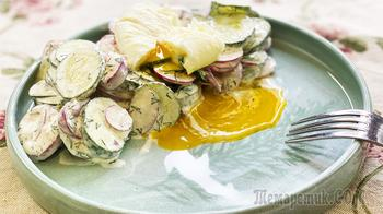 Не устаю готовить! Салат из редиски - так просто и так вкусно!