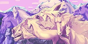 Тест: Сколько лошадей вы видите на картинке? Узнайте удивительные факты о своём характере