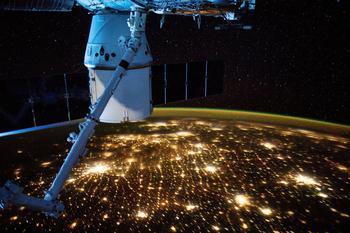 Виды с орбиты Земли: завораживающие фотографии