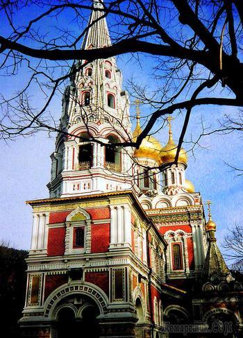Наша весенняя экскурсия 6. Шипкинский монастырь Рождества Христова