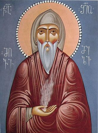 Преподобный Шио Мгвимский (VI век)