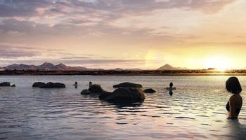 В Исландии на полуострове Карснес строят геотермальную лагуну с видом на океан