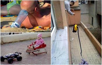 Забавные снимки, доказывающие, что все лентяи - немного гении