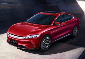 BYD Han 2021: премиальный электромобиль в кузове «седан»