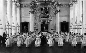 Чему учили девочек 250 лет назад?