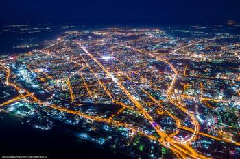 Фотографии Новосибирска с высоты 2019