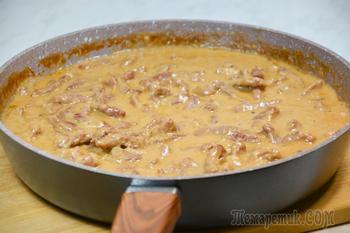 Приготовьте куриные сердечки в сметане! Очень вкусно с любым гарниром!