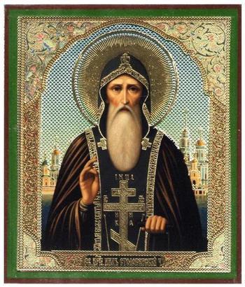 Преподобный Нил Столобенский: житие, акафист, молитва, икона