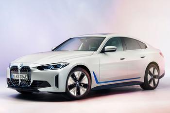 BMW i4 2022: электрический седан с претензией на премиальный статус