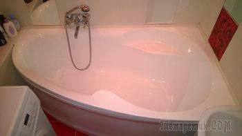 Ванная: миллион алых роз, или уголок для романтиков