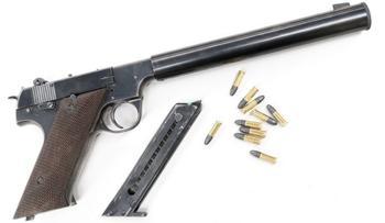 Легенды оружия: малокалиберный пистолет High Standard HDM