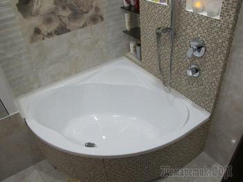 Моя ванная: перепланировка в санузле новостройки
