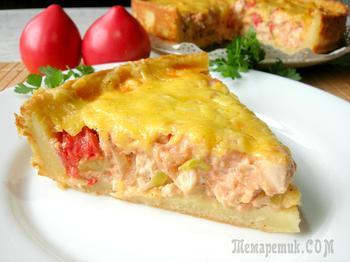 Картофельный пирог – рецепт полный восторг!