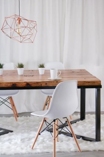Идеи обеденных столов, которые можно сделать своими руками