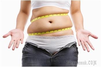 С чем связан лишний вес кроме питания