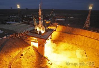 Старт космического корабля «Союз МС-15»
