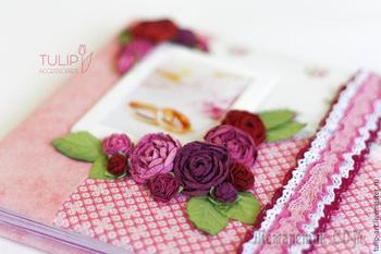 Делаем свадебный альбом — нежный подарок для невесты