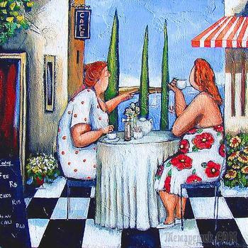 Лёгкий  ужин  в  Бордо (Стих)