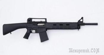 МР-155 К – гладкоствольная полуавтоматическая винтовка в стиле «Милитари»