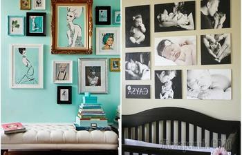 15 оригинальных способов размещения фото в интерьере, которые позволят сделать дом уютнее