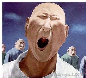Современный китайский художник и скульптор Фан Лицзюнь