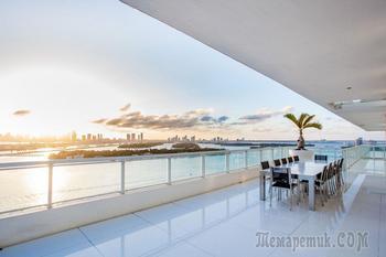 Тусовочный пентхаус с видом на Майами
