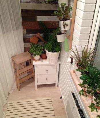 Теплый и уютный балкон